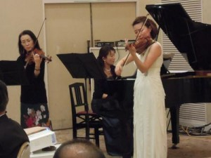 20141219忘年会violine2