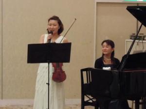 20141219忘年会violine1