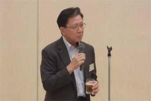 乾杯 斉藤副会長